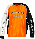 Oxdog Tour Padded Goalie Shirt Orange
