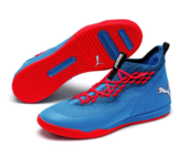Puma Rise XT Fuse 1 Indoor Sports shoe, Sini Punainen