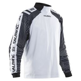 Salming Atilla (19) Goalie Jersey SR, White/Black