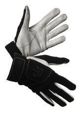 Fat Pipe All Black- Leather Goalkeeper Gloves LIMITED EDITION