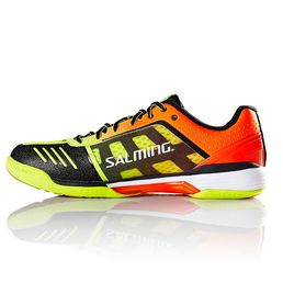 Salming Viper 4 Floorball Shoe Yellow-Orange