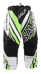 Salming Phoenix Goalie Pants JR (White/Green)