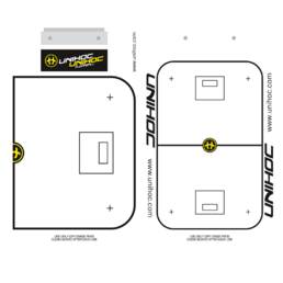 Unihoc Tactic Board Floorball 24 x 40 cm