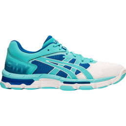 Asics Gel-Netburner Academy 8 (19) indoor shoes, ice mint/ice mint
