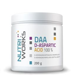 Nutri Works DAA D-aspartic acid 100% 200g