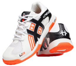 Unihoc U3 Power Shoe White/Orange