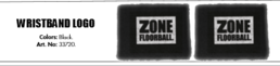 Zone Logo (20) Wristband  2-pack