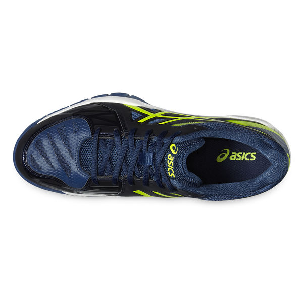 new style 10f64 08040 Asics Gel Fastball 2 Indoor shoe Vermilion Blue -Safty Yellow