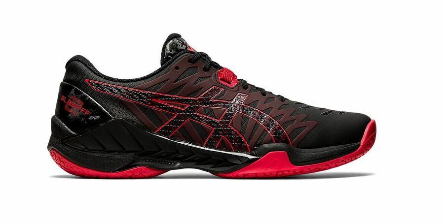 Asics Blast FF 2 (20) indoor shoe Black-Red | Forfloorball.com