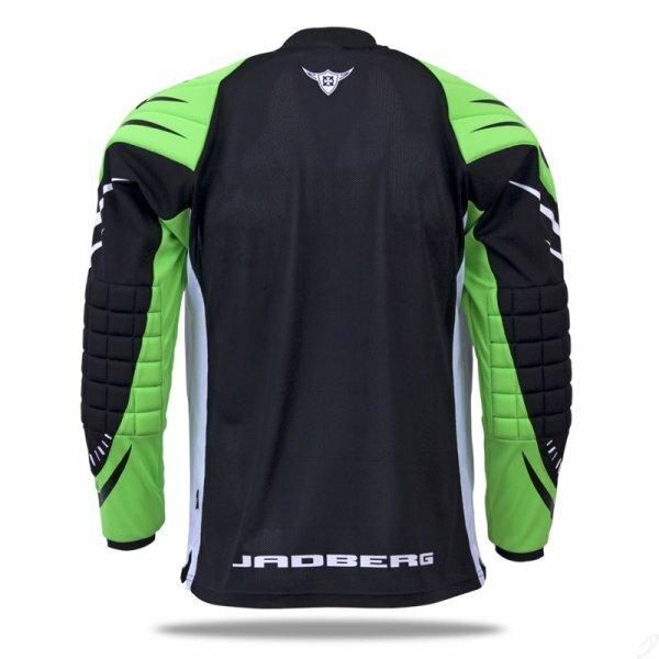 e6c0d936897 Jadberg Defender 2 - Goalie Jersey (Black-Lime)